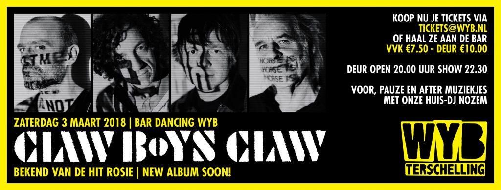 Claw Bows Claw @ Wyb Terschelling